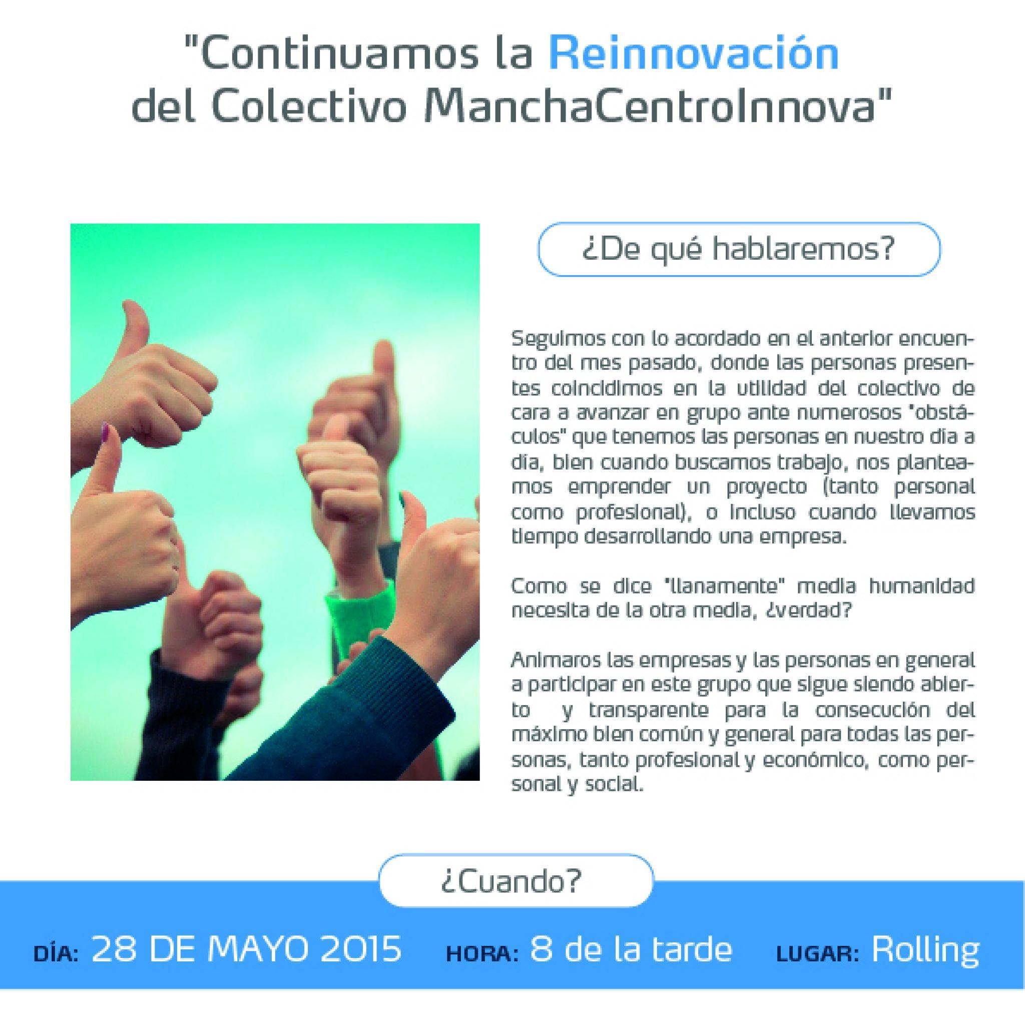Cartel Mayo 2015 manchacentroinnova
