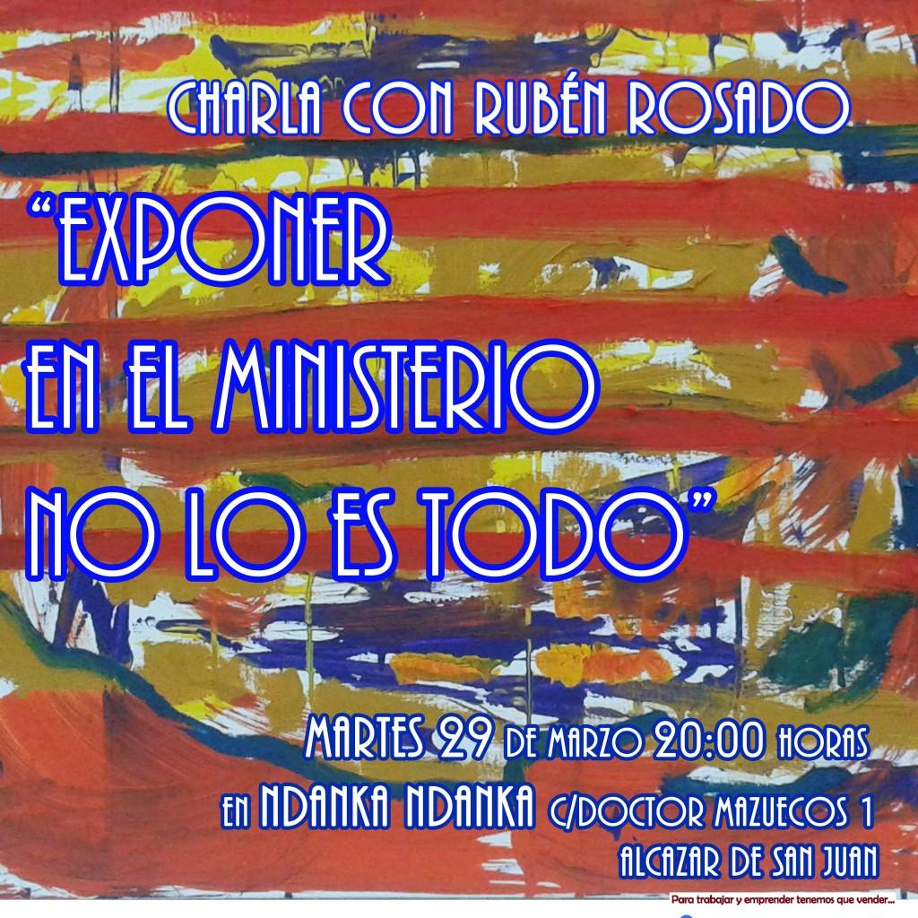 Cartel Encuentro ManchaCentroInnova Marzo2016 Ruben Rosado