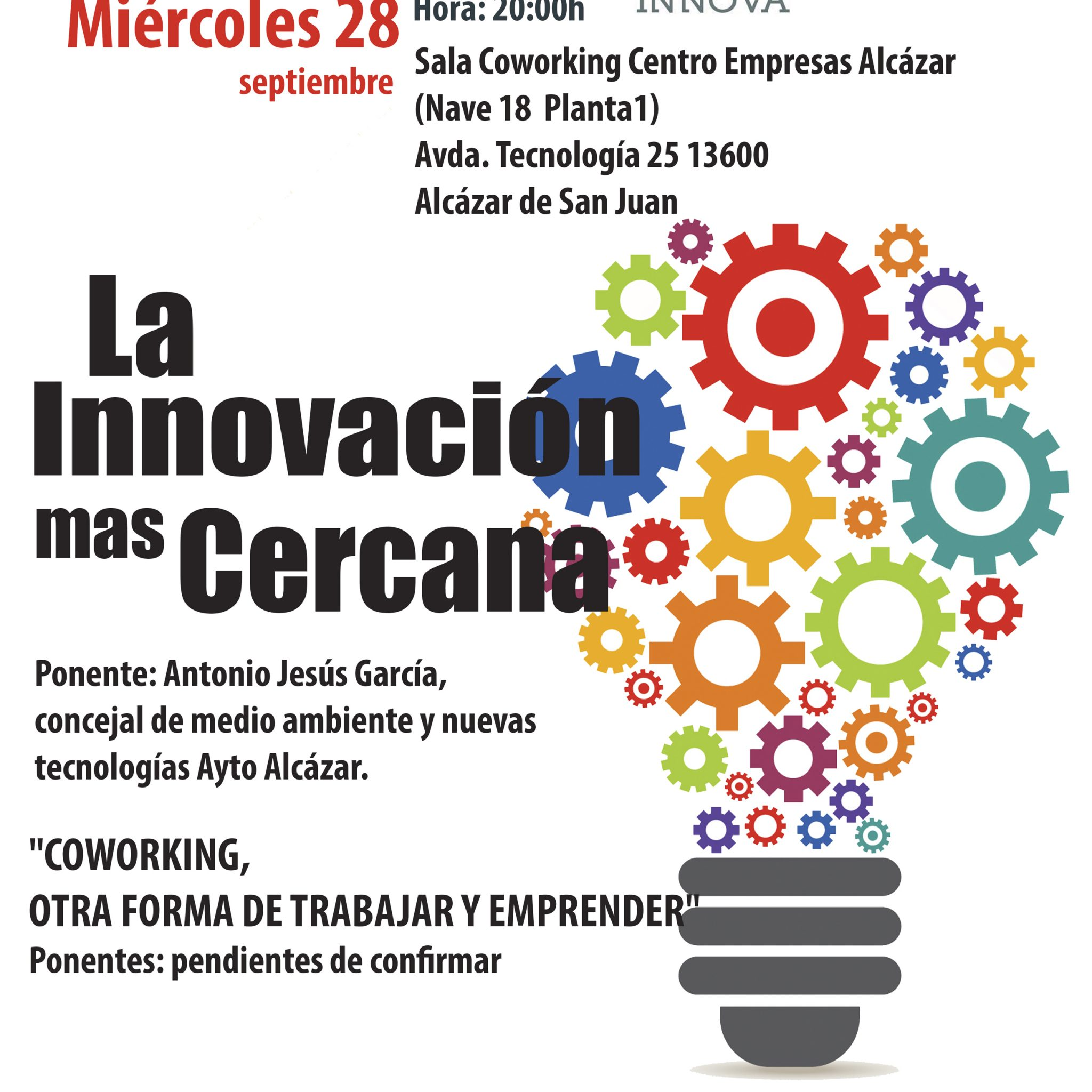 Encuentro ManchaCentroInnova Septiembre 2016 #MCI_Sep16