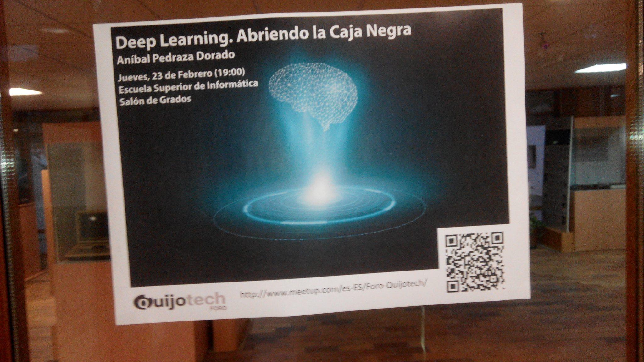 deep learning meet up febrero17 foro quijotech CR