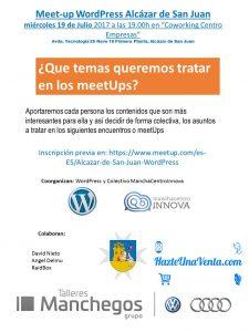MeetUp_WP_Alcazar_Julio17