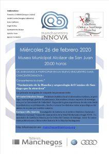 Encuentro manchacentroinnova febrero 2020 Nacimiento La Mancha y Camino de Santiago